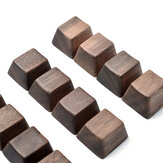 Walnut OEM Height R1 - R4 Small Single keycap Personality No Carving for Mechanical keyboard