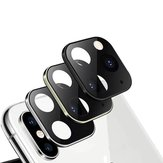 Bakeey Converted Change iPhone XS to iphone 11 Pro Max Second Change Metal + Tempered Glass 2 in 1 Anti-scratch Phone Camera Lens Protector for iPhone XS