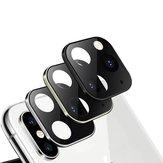 Bakeey Dönüştürülmüş Değişim iPhone XS iphone 11 Pro Max İkinci Değişiklik Metal + Temperli Cam 2'si 1 Arada Anti-çizik Telefon Kamera Lens Protector iPhone XS için