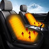 Almofada térmica de aquecimento universal do assento dianteiro do carro elétrico de 12V