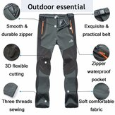 Outdoors Thick Fleece Warm Pants Soft Shell Trousers