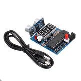 51Single Chip + HC-SR04 وحدة الموجات فوق الصوتية المستشعر وحدة الموجات فوق الصوتية مكتشف عكس الرادار إنذار مع عرض