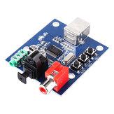 PCM2704USB Ses Kartı DAC Dekoder USB Girişi Koaksiyel Fiber HIFI Ses Kartı Dekoder (C6B4)