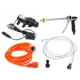 12V 120W High Pressure Washer Cleaner Water Wash Pump Sprayer Kit Tool For Vehicle