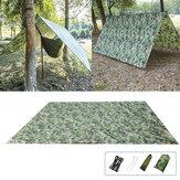 خفيفة التخييم شاطئ المظلة خيمة في الهواء الطلق مأوى القماش المشمع 100x145cm / 230x140cm