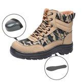 Scarpe antinfortunistiche con punta in acciaio TENGOO Scarpe antinfortunistiche antiscivolo impermeabili antiscivolo Scarpe da lavoro per escursionismo all'aperto