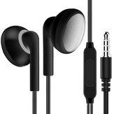 1 STKS Universele Wired In-ear Hifi Oortelefoon Stereo Sport Hoofdtelefoon met Microfoon voor Telefoons Tablet Laptop