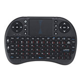 I8 2.4G Wireless German English Layout Mini Keyboard Touchpad Air Mouse Airmouse for TV Box Mini PC