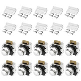 10Pcs Push Button Drawer Cabinet Door Catch serratura Caravan Rv Cabinet Latch Knob