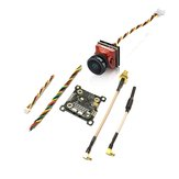 EACHINE TXC23 VTX + CADDX TURBO EOS2 1200TVL CAM 5.8Ghz 48CH FPV Mini Transmitter Camera Combo for Mobula7 Wizard x220s