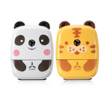 Practical Tiger Panda Animal Shaped Mini Manual Pencil Sharpener Gifts For Students Childrens