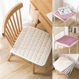 5 Colors Winter Chair Seat Cushions Non-slip Seat Pad With Bandage Office Chair Cushion Throw Pillow Home Decoration Chair Cushion Tatami