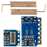RF 433MHz for Transmitter Receiver Module RF Wireless Link Kit +2PCS Spring Antennas OPEN-SMART for Arduino - products that work with official Arduino boards