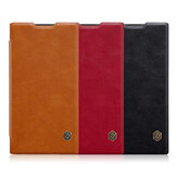 NILLKIN Flip Shockproof Card Slots Holder Full Cover PU Leather PC Protective Case for Sony Xperia L2