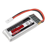 RGT 13638 3.7V 500MAH Lipo Battery For 1/24 136240 V2 RC Car Rock Crawler Off-road Vehicle Models Parts