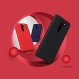 NILLKIN Smooth Shockproof Soft Rubber Wrapped Silicone Protective Case for Xiaomi Redmi Note 8 Pro