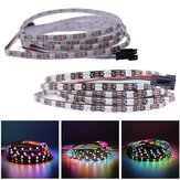 DC5V 2M العرض الضيق 5MM WS2812B 5050 60LED / M IP20 فردي عنونة RGB Dream اللون LED Strip ضوء