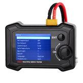 ToolkitRC ST8 8-канальный 100 Вт 2A 7-28 В LCD Сервопривод Специальный тестер PWM / PPM / SBUS Сигнализатор скорости Шаг Сервопривод Анализатор с 4-сторонним н