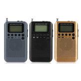 Tragbarer digitaler LCD FM / AM 2 Band Stereo-Radio-Mini-Taschenempfänger mit Kopfhörer