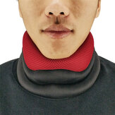 Polyester Spandex Foam Neck Support Cervical Spine Care Breathable Traction Device Brace Office Sports Fitness Fatigue Relaxing Tool