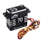 JX Servo C70 HV 12V 72KG 180° Coreless Large Torque Metal Gear Digital Servo For RC Cars Trucks Helicopters