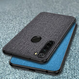 Bakeey Luxury Cotton Cloth Shockproof Protective Case for Xiaomi Redmi Note 8 Non-original