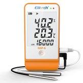 GSP-6 Registratore di dati per la registrazione di temperatura e umidità Catena di refrigerazione a 16000 punti