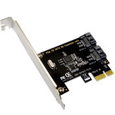 SSU SATA3 - T2 PCI -E To Sata 3.0 Expansion Card 6Gbps With Two SATA Interfaces For Desktop Computer