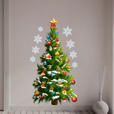 Miico FXMAS Christmas Sticker 3D Christmas Tree Wall Stickers Removable For Room Decorations