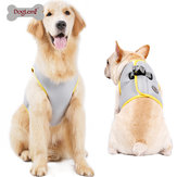 Doglemi Malha respirável Pet Cat Dog Harness Collars Puppy Cool