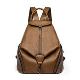 Lederrucksack für Damen, Kadell Fashion Ladies Geldbeutel Anti-Diebstahl-Tasche Casual Travel Rucksack Shopping Daypack