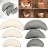 3Pcs/Sets Baby Photography Props PU Leather Half Moon Pillow