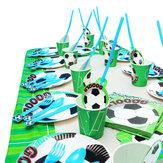 Decorazioni per feste a tema calcio calcio per feste di compleanno per bambini