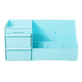 Plastic Desktop Organizer Storage Box Makeup Drawer Organizer Jewelry Nail Cosmetic Container Case