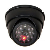 Bakeey 27LED Light Dummy Dome Security CCTV IP Camera with IR LED Flashing Light For Smart Home
