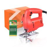 800 W elektrische decoupeerzaag hout decoupeerzaag Houtbewerking met 5 zaagbladen