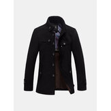 Warm Fleece Jacket Coat Casual Wool Jacket