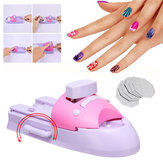 Nail Art Printer Pattern Printing Manicure Machine Tools Kit +DIY Pattern Stamper