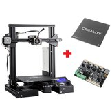 Creality 3D® Customized Version Ender-3Xs Pro 3D Printer 220x220x250mm Printing Size With Magnetic Removable Sticker/Glass Plate Platform/V1.1.5 Super Silent Mainboard