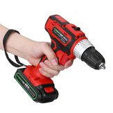 48V 2 Speed Cordless Electric Screwdriver Rechargeable Battery LED Lighting Power Drills Driver