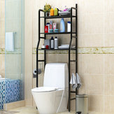 Bathroom Toilet Storage Rack Wall Punch-free Toilet Washbasin Storage Shelf Bathroom Shelf Rack