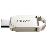 EAGET CU30 Portable Metal USB 3.0 Flash Memoria di archiviazione su disco bastone Telefono OTG Type C Pen Drive Mini U Disk