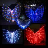 LED Isis Wings Night Light Glow Up Lamp Costume Belly Dance Egyptian Club Show With Stick