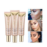 O.TWO.O Shimmer Highlighter blush Cream 25ml Primer Base Contouring Concealer Highlight Whitening Moisturizer Oil-control Cosmetics