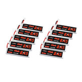 10Pcs URUAV 3.8V 450mAh 80C / 160C 1S Lipo Batterie PH2.0 Stecker für EMAX Tinyhawk II 75mm Tiny7 Happymodel Snapper7