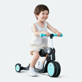 BEBEHOO 5 in 1 Tre ruote Chilren Balance Bike Scooter 2-6 anni Baby Walker Tricycle Ride Car Toy