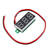 20pcs 0.28 Inch Two-wire 2.5-30V Digital Blue Display DC Voltmeter Adjustable Voltage Meter