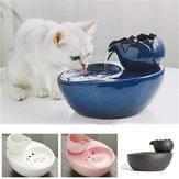 Pet Dog Cat Bowl Fontanna Smart Feeder Automatyczny dozownik wody Ceramiczny poidło