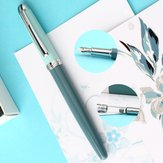 Moonman Youth Fountain Pen F 0.5mm Nib Metal Writing Signing Ink Pens Gifts for Students Friends Families