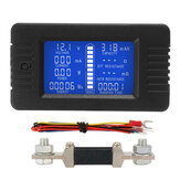 DC Multifunktions Batterie Monitor Meter 50A / 200A / 300A LCD Anzeige Digital Current Multimeter Voltmeter Amperemeter für Autos RV Solar System